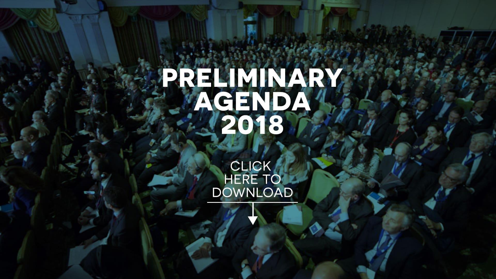MED Preliminary Agenda – Rome Med 2019